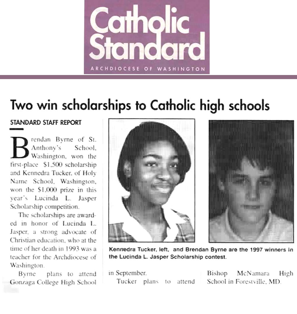 1998 Catholic Standard Article